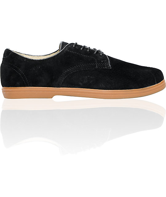 Vans OTW Pritchard Black Suede & Gum Skate Shoes