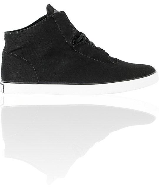 Vans OTW Stovepipe Black & White Canvas Skate Shoes