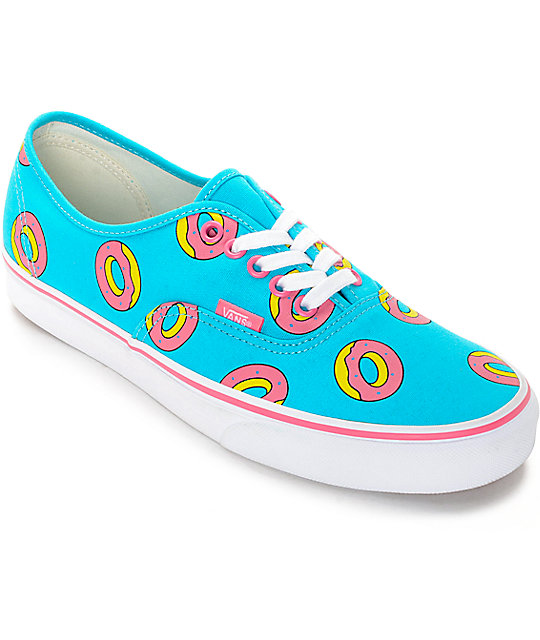 Vans Odd Future Authentic Scuba Blue Donut Shoes at Zumiez : PDP