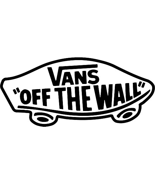Vans Off The Wall Black Die Cut