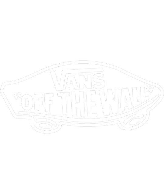 Vans Off The Wall White Die Cut
