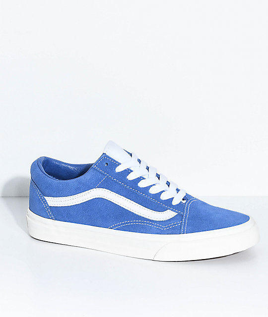 vans old school blue