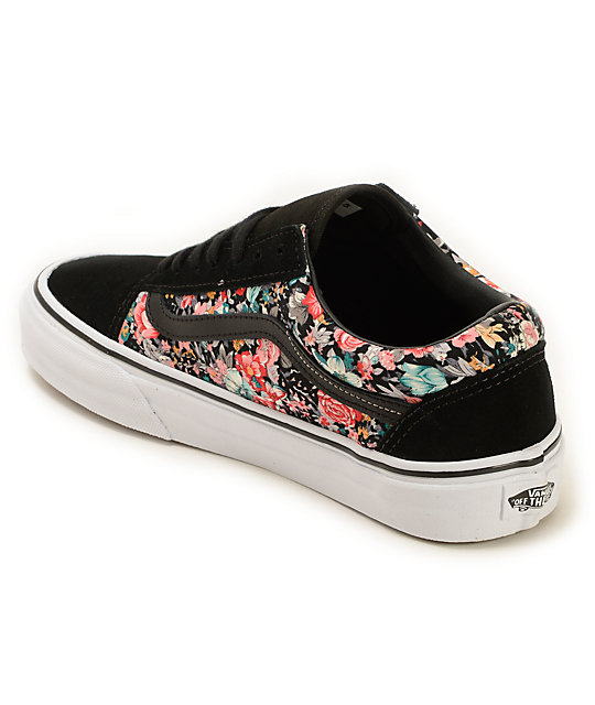 Vans Old Skool Floral Shoes