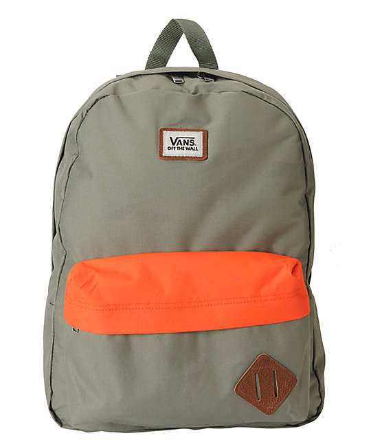 Vans Old Skool II Army & Flame 22L Backpack
