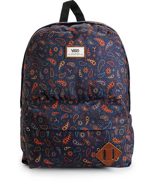 Vans Old Skool II Black Iris Fun Guy Backpack
