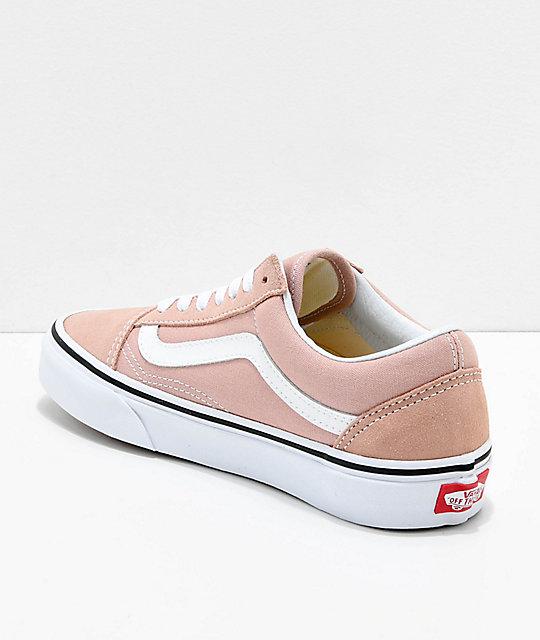 vans shoes rose