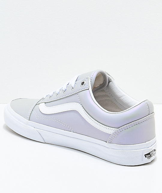 Vans Old Skool Muted Metallic Skate Shoes