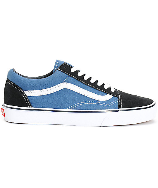 Vans Old Skool Navy Skate Shoes