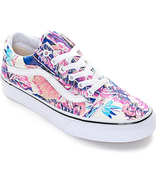 Vans Old Skool Tropical Shoes (Womens)