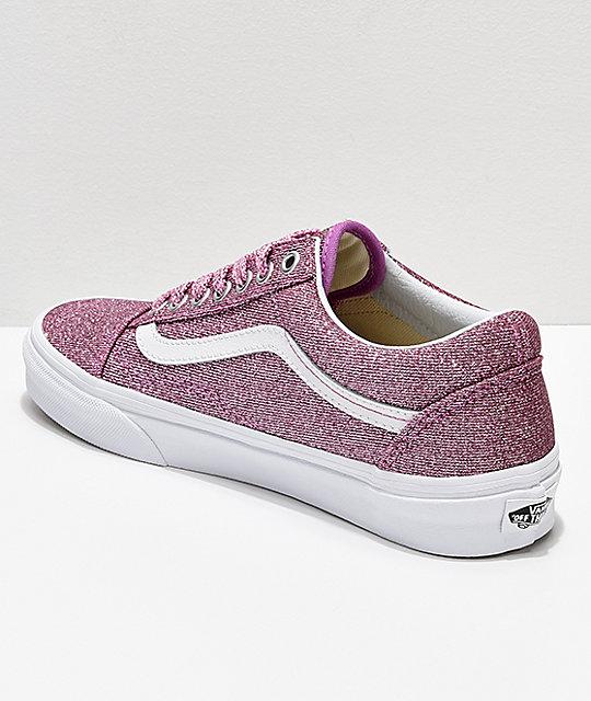 De Skool Vans Rosa Old Skate Brillo Con Zapatos xoWdCQerB
