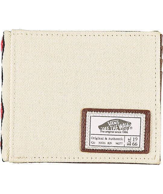 Vans Original Native White Bifold Wallet