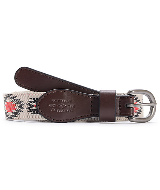 Vans Original Pattern Brown Belt