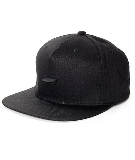 Vans Park Black Strapback Hat