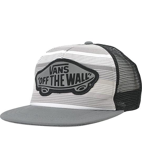 Vans Paseo Grey Snapback Trucker Hat