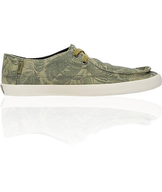 Vans Rata Vulc Cedar Green Skate Shoes
