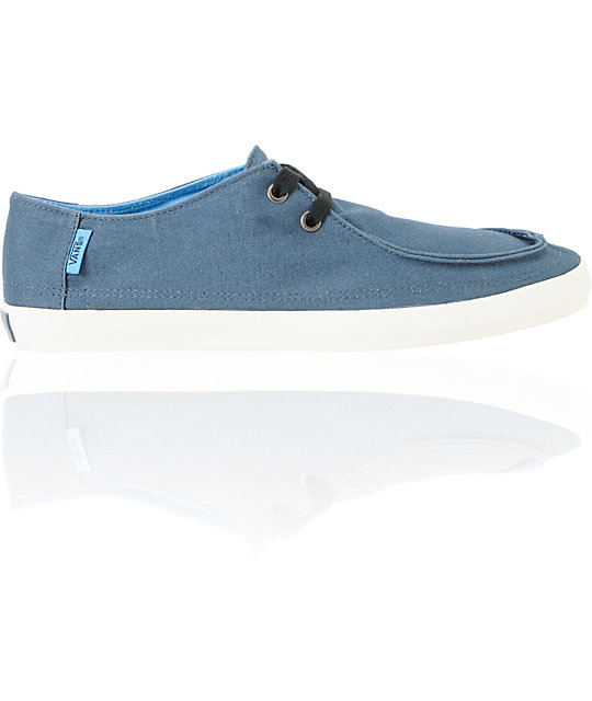 Vans Rata Vulc Majolica Blue Skate Shoes (Mens)