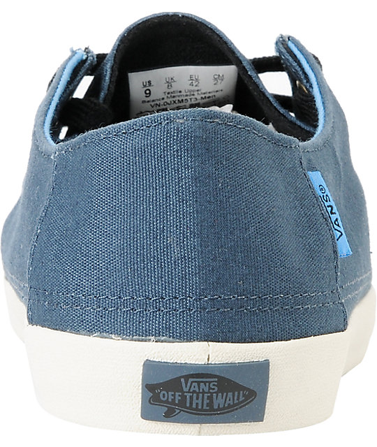 Vans Rata Vulc Majolica Blue Skate Shoes
