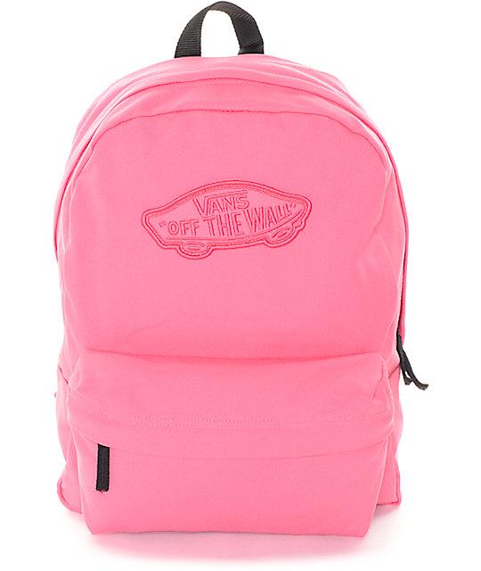 Vans Realm Camellia Rose Backpack