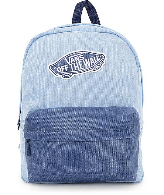 blue vans bag