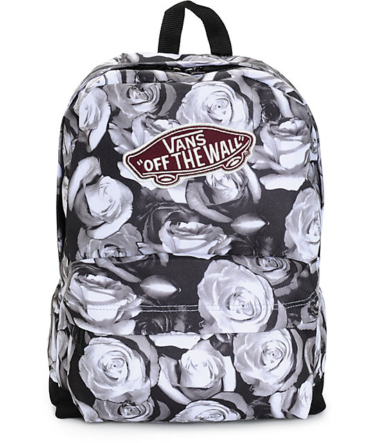 Vans Backpacks For Boys Vans Realm Digi Rose Backpack