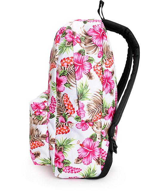 Купить рюкзак vans realm hawaiian natural розовый кенгуру и эрго рюкзак