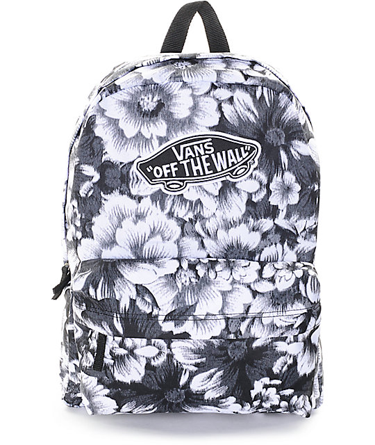 64a9c47756 Vans Realm Mono Floral Backpack