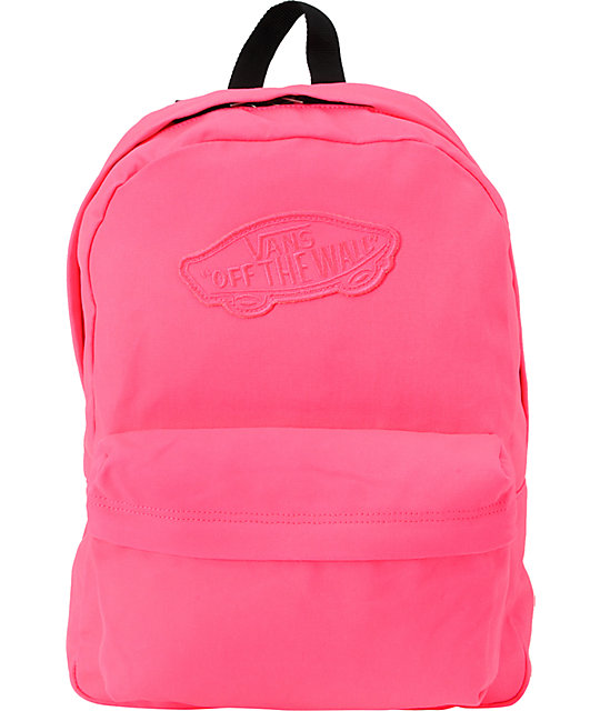 Realm Neon Pink Backpack