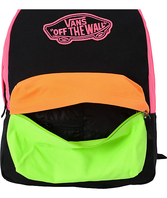 Vans Realm Neon Tritone Backpack