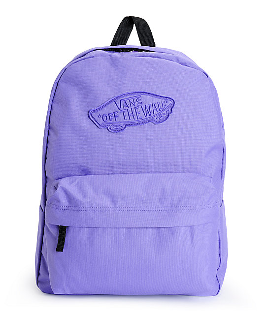 Vans Realm Passion Flower Purple Backpack at Zumiez : PDP