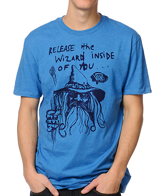Vans Release The Wizard Blue T-Shirt