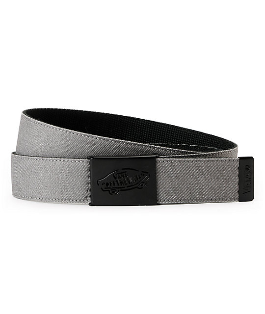 Vans Reverse Grey Denim Web Belt