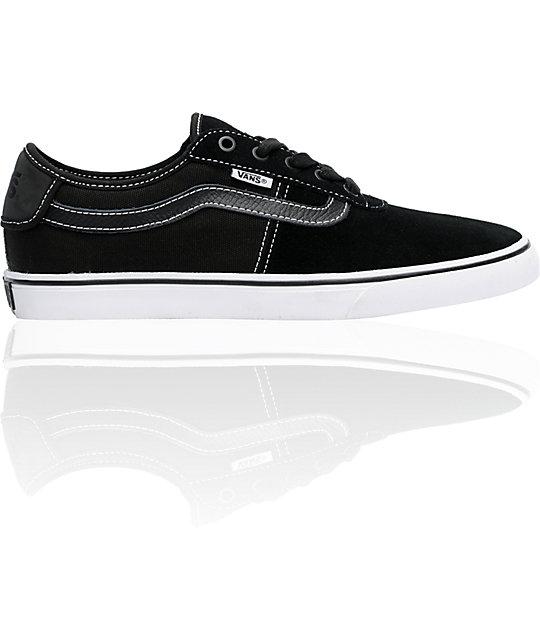 Vans Rowley Black & White Skate Shoes
