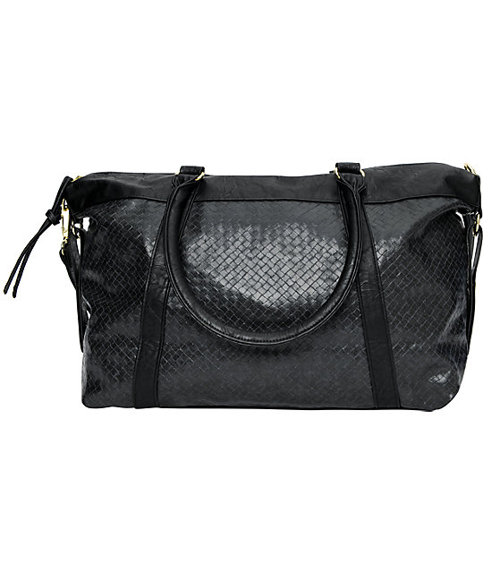 Vans Saddled Large Black Bag