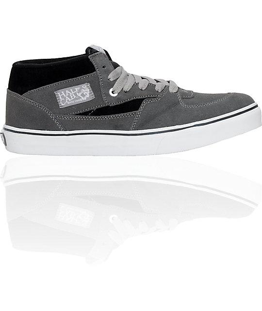 Vans Shoes (Womens)Half Cab Black & Grey Shoes (Womens)