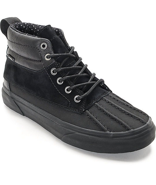 Vans Sk8-Hi Del Pato Black & Black Shoes