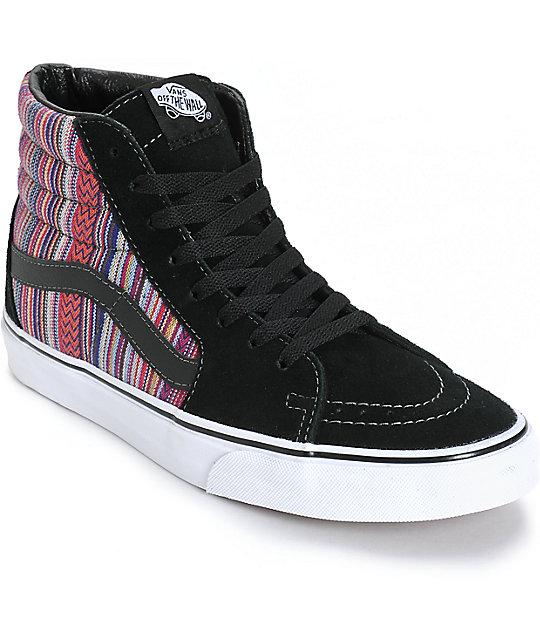 Vans Sk8-Hi Guate Weave Skate Shoes at Zumiez : PDP