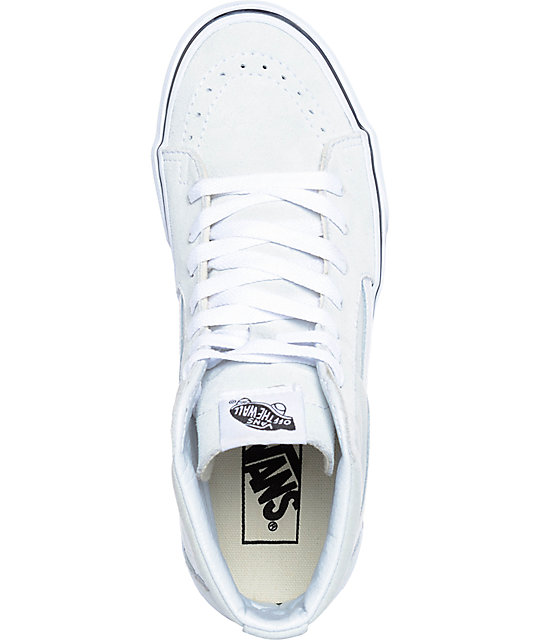 Vans Sk8-Hi Ice Flow & True White Skate Shoes