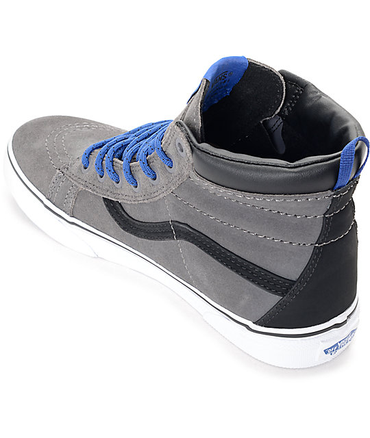 Vans Sk8-Hi MTE Tornado & Blue Boys Skate Shoes
