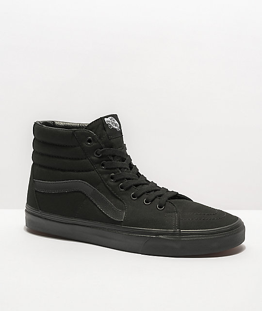Vans Sk8-Hi Mono Skate Shoes at Zumiez : PDP