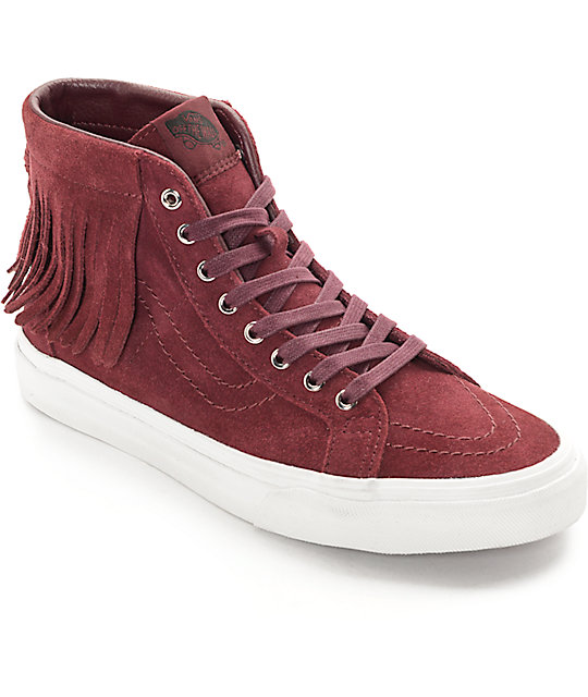 Vans Sk8-Hi Port Royale Moc Shoes (Women's) at Zumiez : PDP