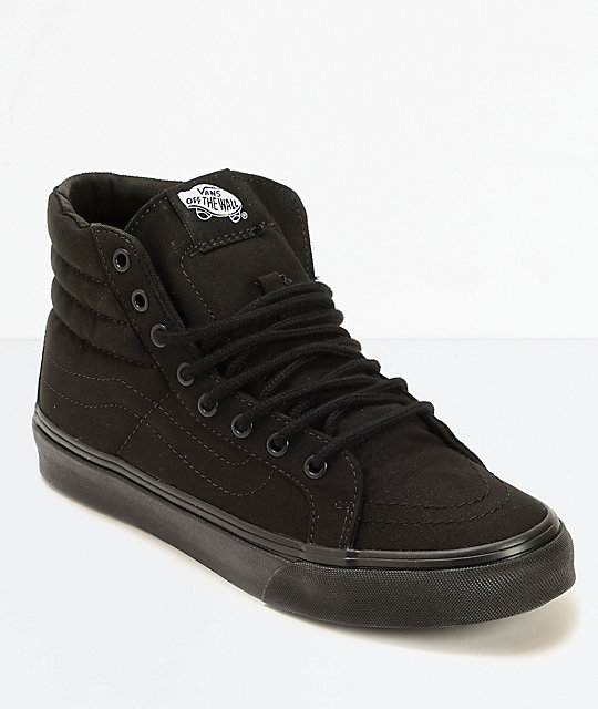 I love these shoes. I was searching for plain black high tops for a while and found these. Great price and really comfortable for weight lifting.
