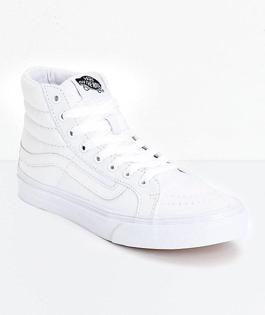 Vans Zapatos Blancos