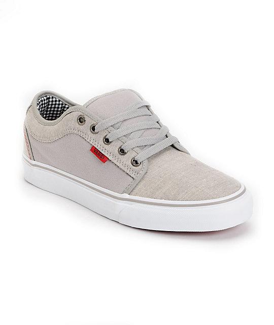 Vans Skate Shoes (Mens) Chukka Low Grey Denim Skate Shoes (Mens)