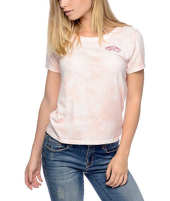 Vans Skimmer Rose Cloudwash T-Shirt