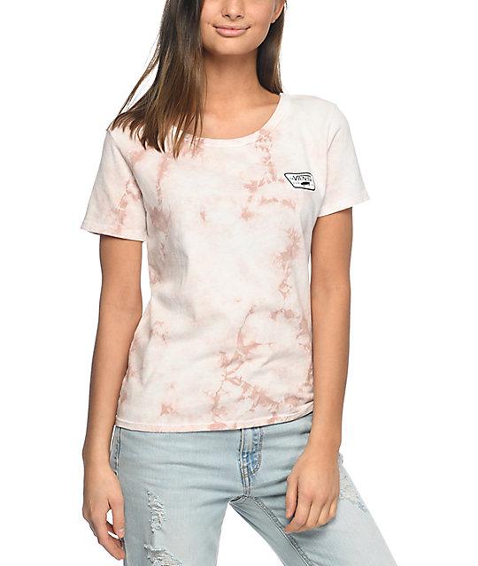 Vans Skimmer Tan Rose Cloudwash T-Shirt