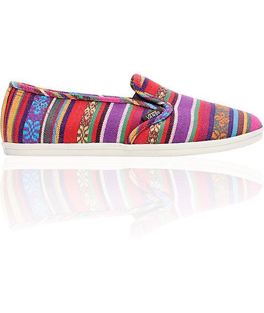 Vans Slip-On Lo Pro Guata Stripe Shoes