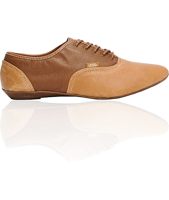 Vans Sophie Brown & Tan Shoes (Womens)