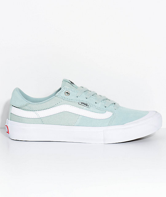 Vans Style 112 Pro Harbor Grey Teal Skate Shoes