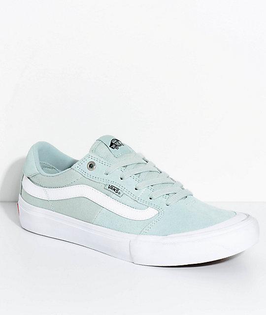 vans 112. vans style 112 pro harbor grey teal skate shoes t