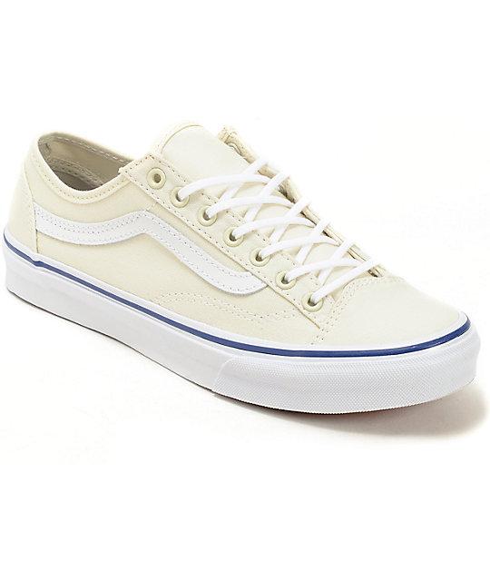 Vans style 36 slim classic white shoes at zumiez pdp